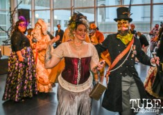 Green Valley Theater Company, Art Mix Masquerade, Crocker Art Museum, Sacramento, CA, March 14, 2019, Photo by Daniel James.