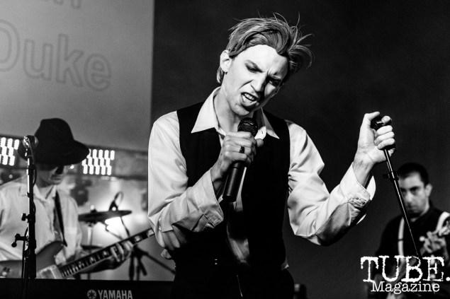 The Thin White Duke, Sacramento Halloween Show, Verge Center for the Arts, Sacramento, CA. April 6, 2019. Photo Mickey Morrow