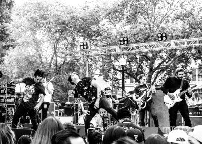 Wolf and Bear Band, Concerts in the Park, Sacramento CA. Photography Mickey Morrow.