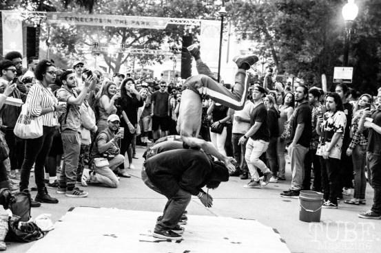 Happy Feet, Concerts in the Park, Sacramento CA. Photography Mickey Morrow.