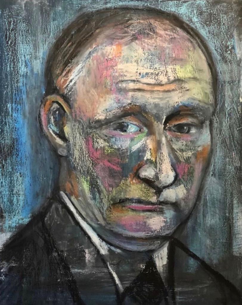 Portrait of Vladimir Putin by Richard Muñoz-Moore