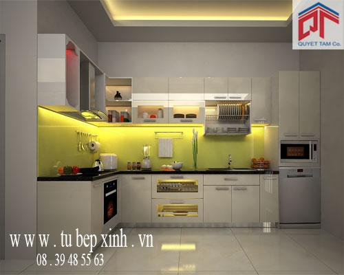 Tủ bếp gia đìnhnhà anh Lộc