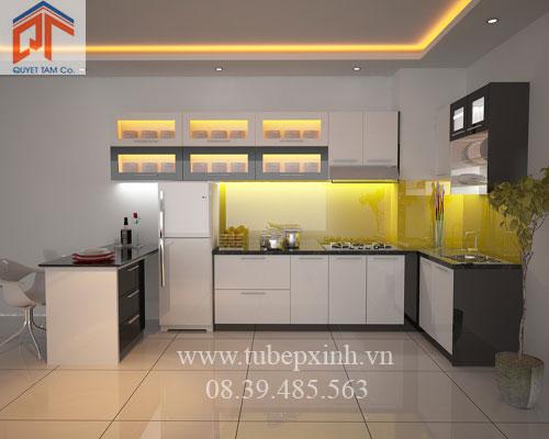 Tủ bếp cao cấp nhà anh Hải - BRVT