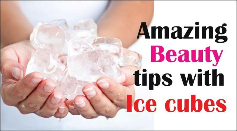 Amazing beauty tips with Ice cubes-tubertip.com