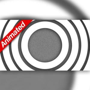 Video Transition White Circles