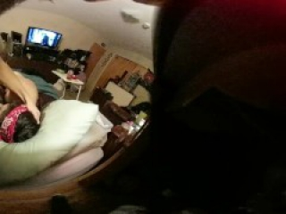 360 VR blowjob face fucking good dick sucking cum in mouth POV