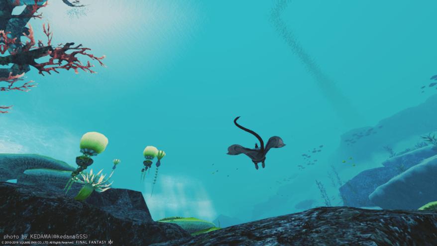 【FF14】初潜水の思い出【#紅蓮ストーリー】