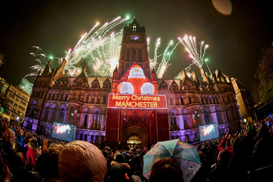Manchester Christmas Lights Switch On 2017 – tube uk limited