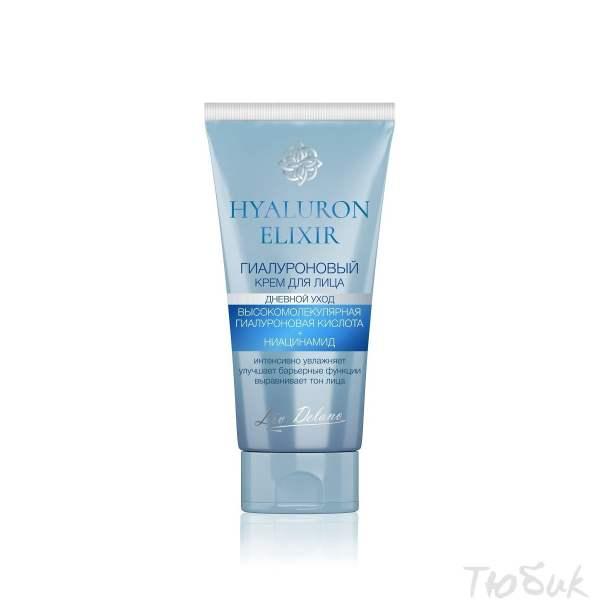 Гиалуроновый крем для лица дневной HYALURON ELIXIR, 50г