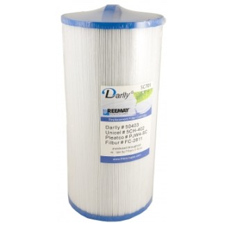 Darlly Cartridge Filter SC701 50403 PJW40-SC for Del Sol Spas Sundance Spas Del Sol Redondo