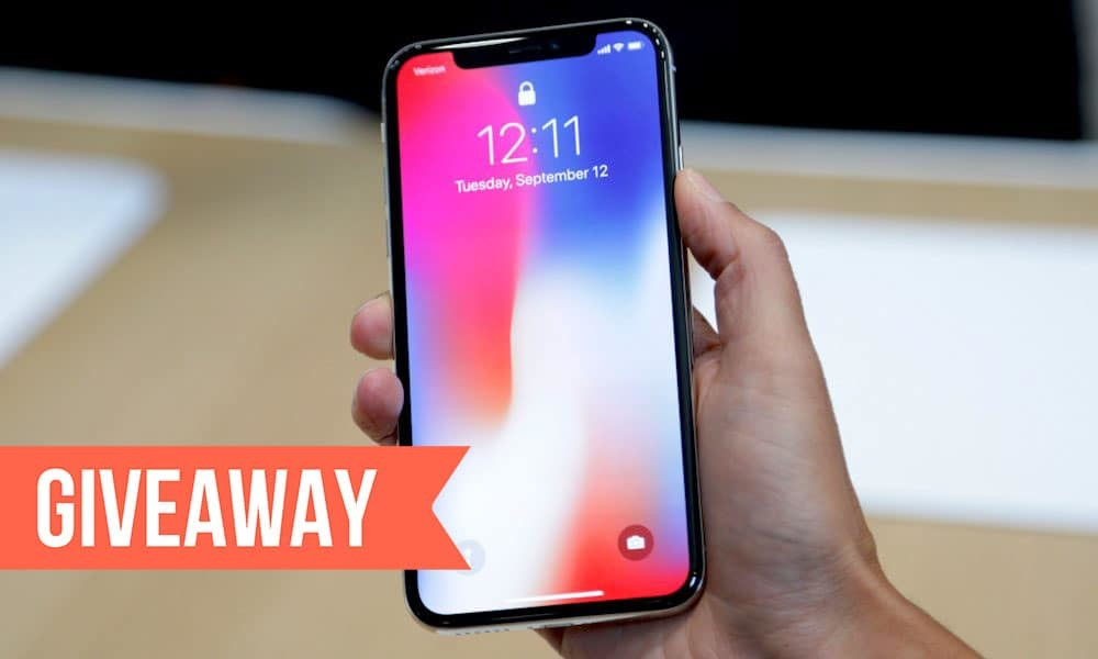 Update on iPhone X Give Away
