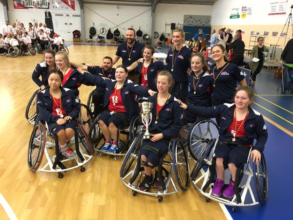 Great Britain Women WIN U25 European Championships