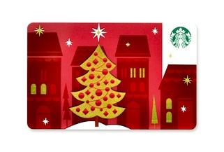 スターバックスカードクリスマスバージョン