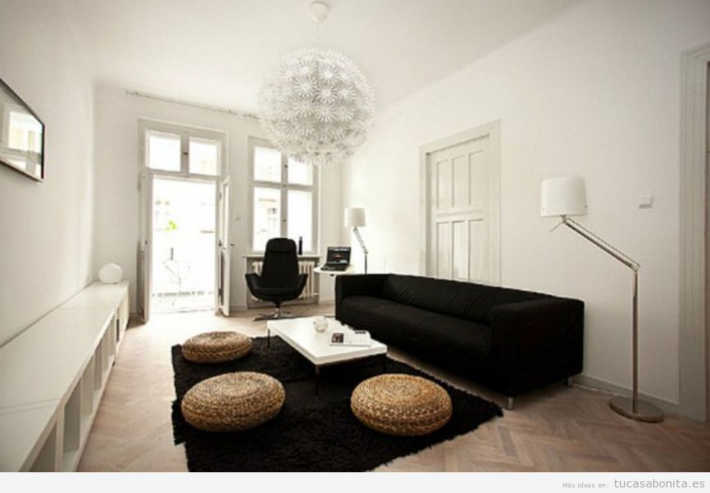 Decoracion de living con piedras minimalistas. ambientando tu casa ...