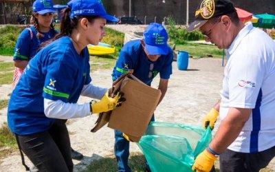 Los MEDIOS hablan de la increíble Jornada de Limpieza de Río Rimac por parte de migrantes venezolanos