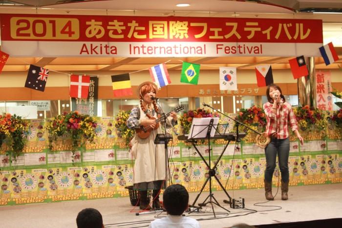 カナダ時代の同窓生と国際フェスティバルステージ出演