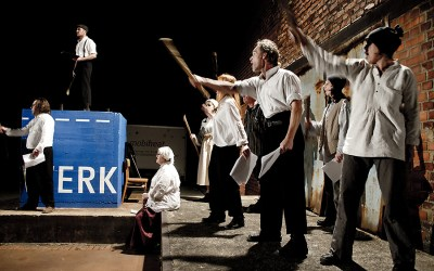 "Theater K im Tuchwerk: ""Rebellion 1830"""