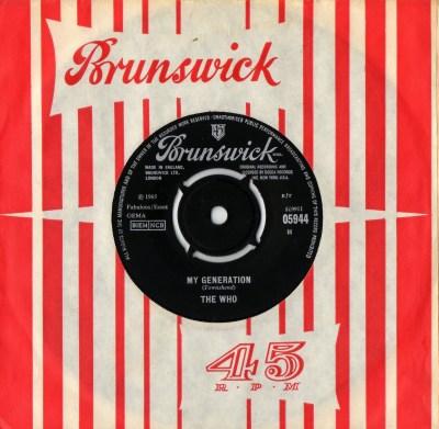 Who - My Generation - brunswick