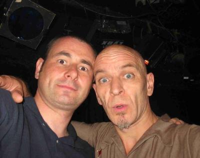 Andy with Keb Darge