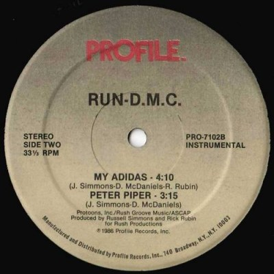 run dmc label