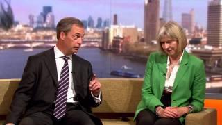 Farage and Theresa May