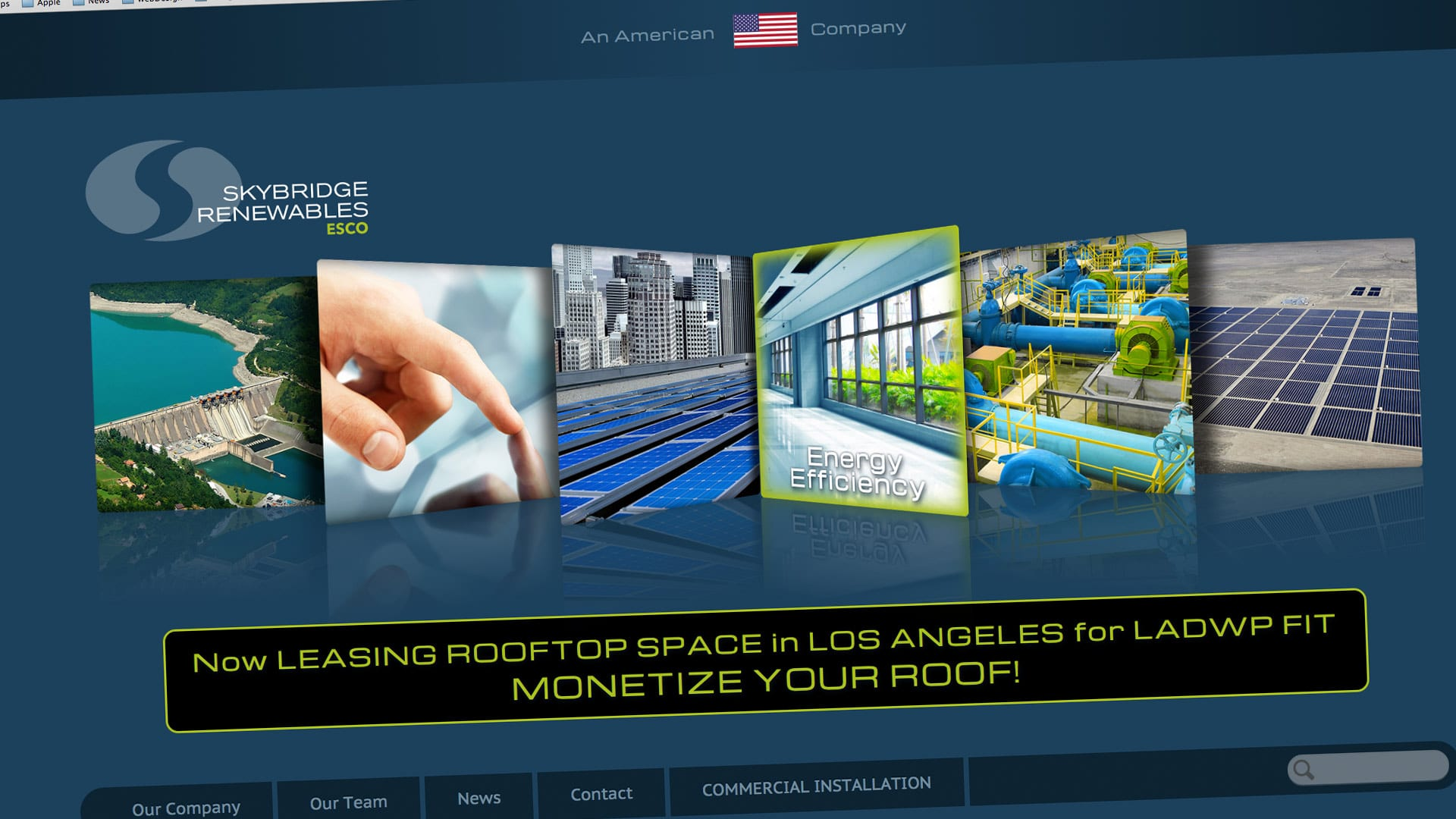 Skybridge Renewables Homepage