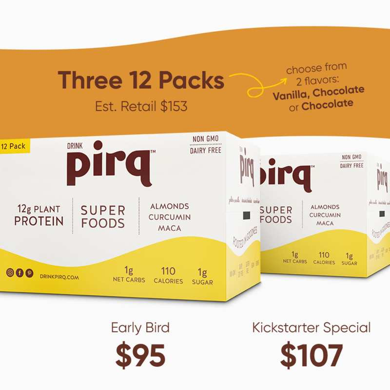 Pirq Kickstarter Rewards Featured