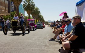 Car lovers attended the 41st Annual Rodders Days car show at the University of Arizona. The free show took place from Thursday to Saturday.