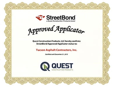 StreetBond Certification 2015