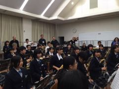 Kaga Middle School Band