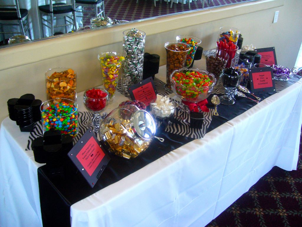 Candy Tables Are Popular