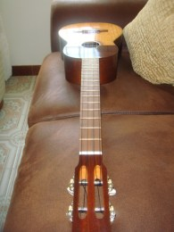 Venezuelan Cuatro made of Mahogany wood