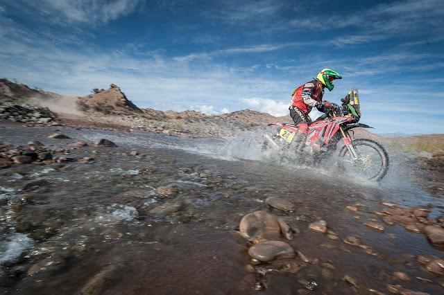 Jean Azevedo é o único representante do Brasil nas motos do Dakar 2016