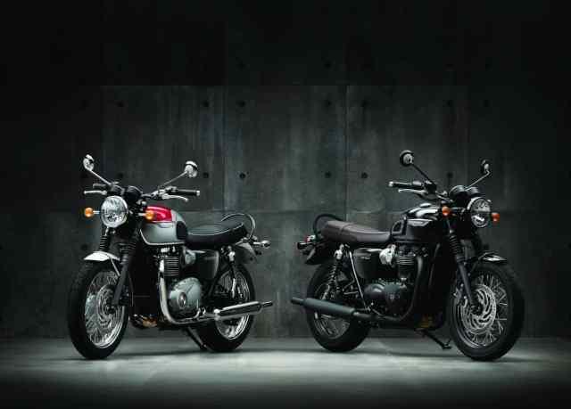 Triumph Bonneville T120 e e T120 Black