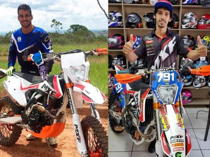 Vitor Borges e Caxopa integram o time MXF e correrão com a nova moto 250RX no Brasileiro de Enduro FIM. Foto: Divulgação MXF.