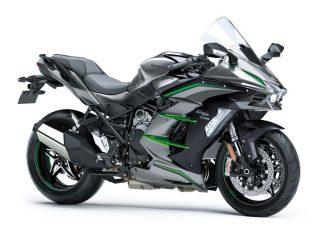 Tecnologia Kawasaki - Ninja H2 SX - eletrônica como aliada