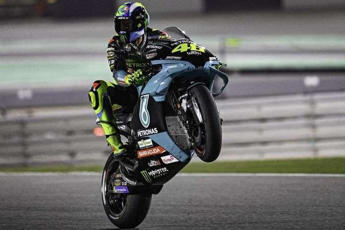 Valentino Rossi na Q2, sai em quarto no GP do Qatar