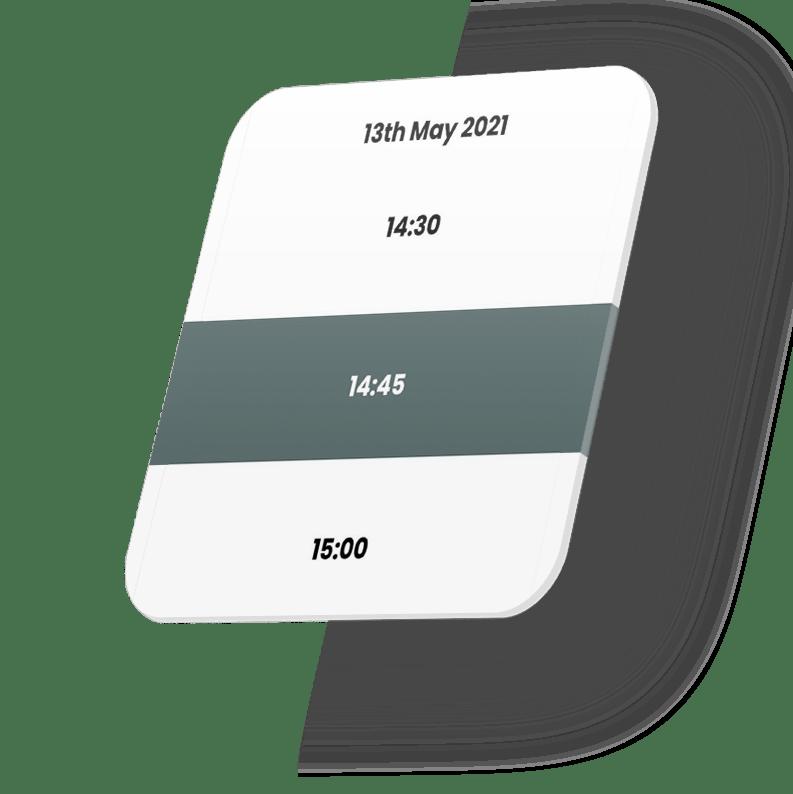 App - Time Slots