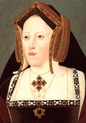 Retrato de Catarina de Aragão, atribuído a Lucas Horenbout. Final do século XVI.