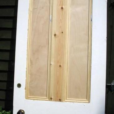 Tudor Carpentry and maintenance Shrewsbury Bespoke door alteration