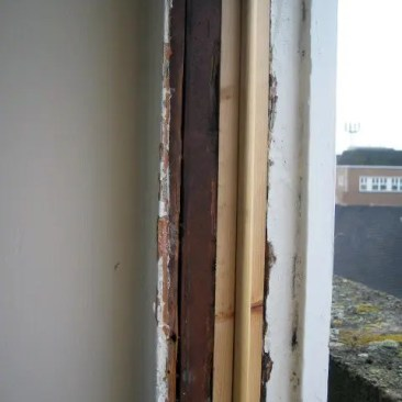 Tudor Carpentry and maintenance Shrewsbury Sash window rot repair