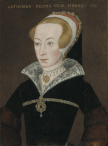 English School, c. 1590-1620: Portrait of Katherine Parr