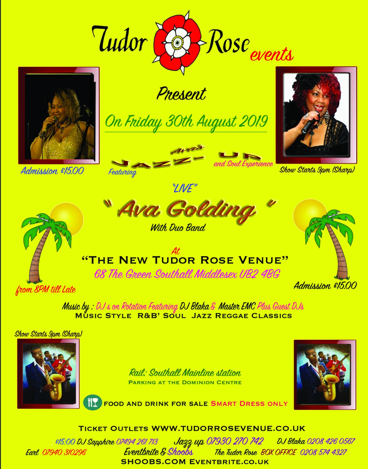 Jazz Up featuring live: Ava Golding  with Duo Band 1