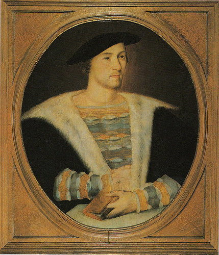 Portrait of William Carey, first husband of Mary Boleyn