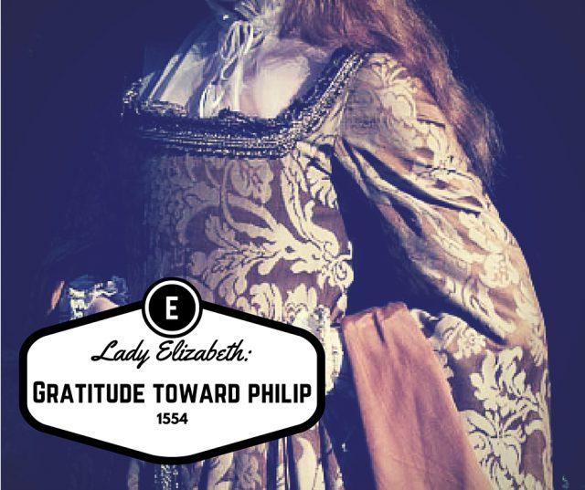 Lady Elizabeth: Gratitude Toward Philip