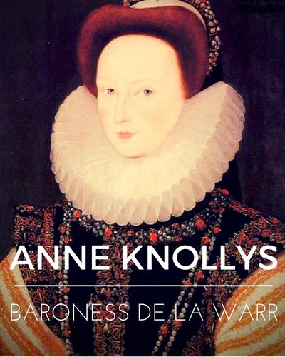 Anne Knollys, Baroness De La Warr