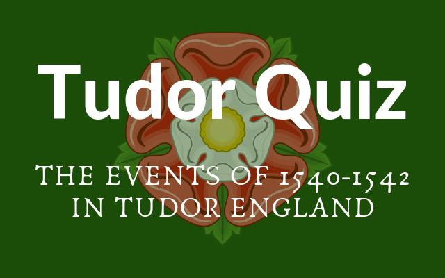 Tudor Quiz