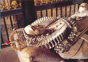 Queen Elizabeth I's Tomb at Westminster Abbey