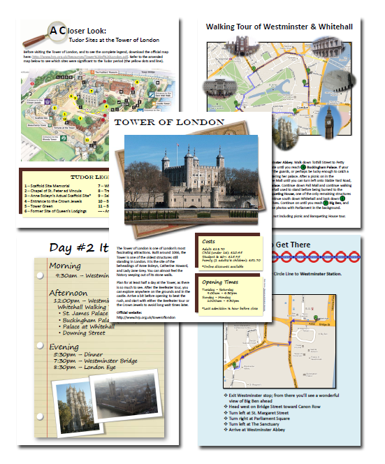 Tudor London Journey Planner Preview