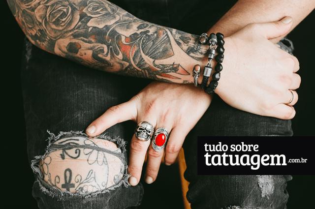 cicatrização tattoo